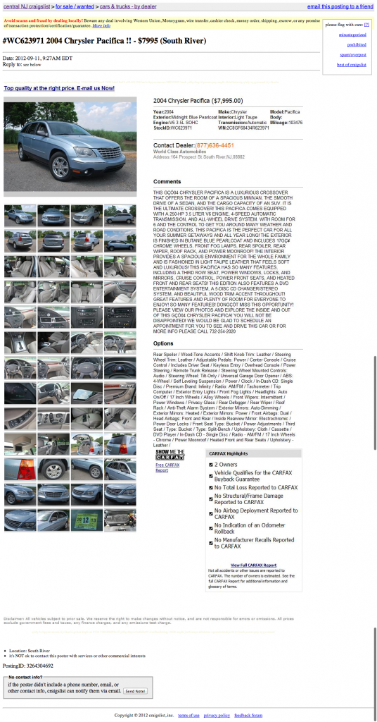 Miami Craigslist Trucks