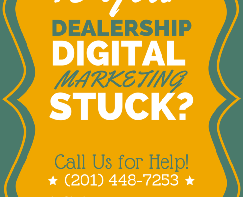 is your dealership digital marketing stuck